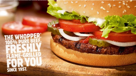 The Whopper From Burger King - Beef2Live | Eat Beef * Live