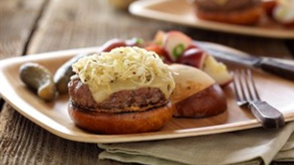 Oktoberfest Beef Burgers Beef2live Eat Beef Live Better